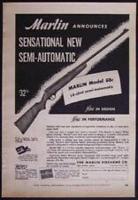 1949 Marlin 88c .22 Cal Semi Automatic Rifle Magazine AD