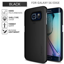 Spigen Galaxy S6 Edge Thin Fit Series Smooth Black