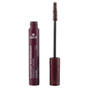 Mascara Cils Waterproof Prune Certifié Bio Cosmétique Naturel Écologique AVRIL