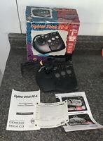 Sega Genesis Asciiware Fighter Stick SG-6 Joystick Arcade Controller