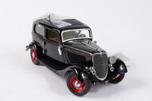 1933 Ford Coupe Dillinger Diecast Model Car From The Franklin Mint Archives E16