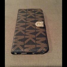 "Michael Kors Wallet Stand Case 4 iPhone6/6sPlus 5.5"" With Magnetic Close Handle"