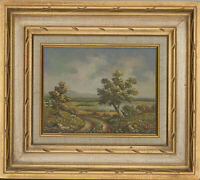 Homer - Framed 20th Century Oil, Summer Landscape