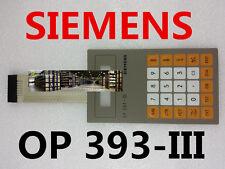 New For Membrane Keypad OP 393 II SIEMENS 6ES5 393-0UA12 6ES5393-0UA12