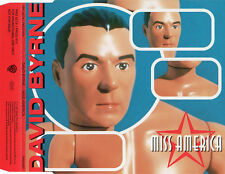 "DAVID BYRNE ""MISS AMERICA"" RARE PROMOTIONAL CD SINGLE / TALKING HEADS"