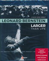Leonard Bernstein Larger Than Life Bluray Blu-ray NEW Film by Georg Wubbolt