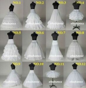 Fancy 2021 Wedding Bridal Hoop Petticoat Crinoline Prom Underskirt Skirt Slip