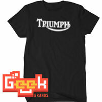Triumph motorcycle Tshirt - Triumph Motorcycle pullover tshirt