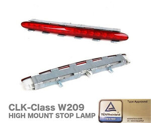 For Mercedes Benz CLK W209 02-09 Rear 3rd LED Tail Brake Light RED Stop Lamp New