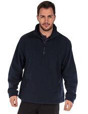 Jersey de hombre en color principal azul de poliéster