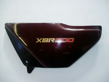 Honda XBR500  XBR 500 (PC15) Seitendeckel links  (braun-metallic)