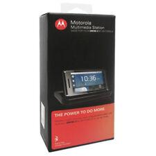 NEW OEM Multimedia Docking Station for Motorola DROID 2/Milestone 2 w Charger