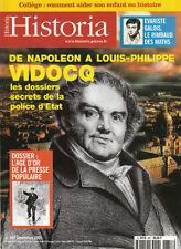 Revue Historia  de Napoléon à Louis Philippe no 657 septembre  2001 book
