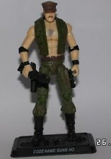 Action Force/GI Joe 25th Anniversary Gung Ho Rare variant complete