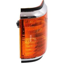 For F Super Duty 90-91, Driver Side Corner Light, Amber Lens, Plastic Lens