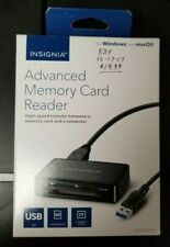 Insignia - Advanced Memory Card Reader Ns-Dcr30D3K