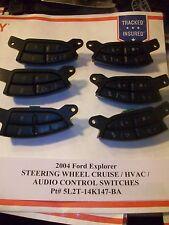 2004 Ford Explorer STEERING WHEEL CRUISE & AUDIO HVAC SWITCH s 5L2T-14K147-BA