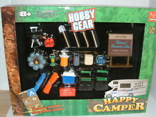 1/24 ACCESSORY PARTS,CAMPING HOLIDAY, LARGE SET, FOR KIT UPGRADE,DIORAMA