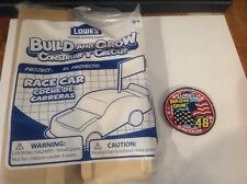 Lowes Build and Grow ~ Race Car ~ with FLAG - Free Shipping
