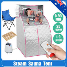2l Portable Steam Sauna Tent Home Spa Body Slim Loss Weight Skin Salon Steamer