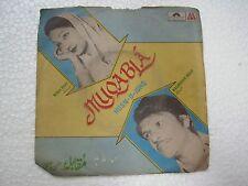 KALANDAR AZAD PARTY  MUQABLA HUSN O ISHQ QAWWALI SONG rare EP RECORD 1981 VG+