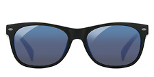 EnChroma REFURBISHED Ellis Outdoor Glasses - Color Blind Glasses (Black)