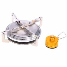 Portable Stainless Steel Mini Stove Head Gas Burner Outdoor Camping Cooking US