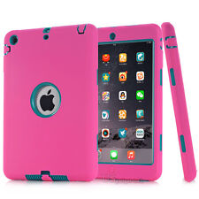 For iPad 234 mini 1234 Air 1 Pro Shockproof Armor Military Heavy Duty Case Cover