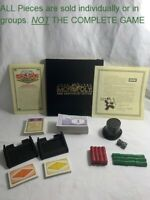 U-PICK Monopoly 60th Anniversary Parts Pieces Replacement