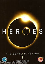 HEROES: THE COMPLETE SEASON 1 (R2/4/5 Seven DVD Box Set) (Anders/Bell/Coleman)