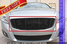 GTG, 2011 - 2013 VOLVO C70 1pc BLACK UPPER REPLACEMENT BILLET GRILLE KIT