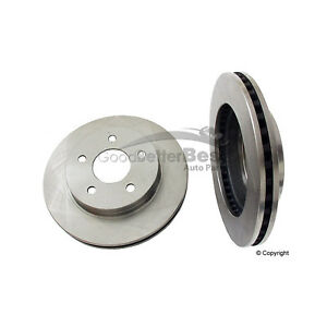 One New OPparts Disc Brake Rotor Rear 40518024 for Ford for Lincoln for Mercury