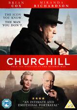 Churchill DVD 2017 Brian Cox Miranda Richardson Movie Reg 2
