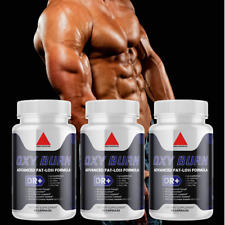 Oxy Burn Fat Burner Premium Weight Loss  (Pack of 3)
