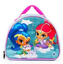 NICKELODEON SHIMMER & SHINE Girls PVC & Lead-Free Insulated Lunch Tote Box NWT