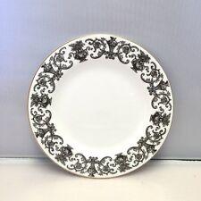 "Royal Doulton Fine Bone China - 6""  Bread & Butter Plate Pattern RD139 Black"