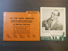BENNY GOODMAN 40s 50s KYW 1060 AM NBC Radio Nightclub Parade Stars Picture Promo