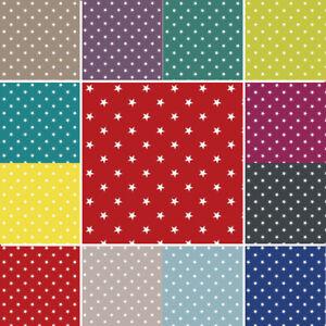 PVC Vinyl Tablecloth 15mm Stars Wipe Clean Easy 140cm Wide