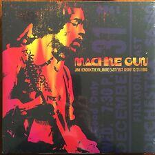 JIMI HENDRIX - MACHINE GUN FILLMORE EAST FIRST SHOW SEALED DOUBLE VINYL LP