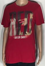 Taylor Swift Red Pop Country Song Album Singer Artist Womens Small S T-shirt