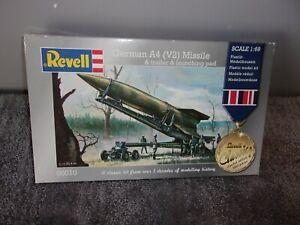 """MODEL KIT REVELL GERMAN A4 (V2) MISSILE 1:69 """"UNBUILT COMPLETE"""""""