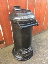 """🔥 Vintage Antique """"SIDDONS"""" Cast Iron Stove Log Wood Burner Industrial 🔥"""