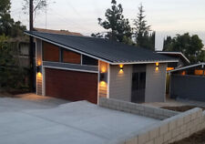 ** Midcentury Modern 2-Car Detached Garage Plans - Floor Plans, Blueprints **