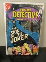 Detective Comics (1978) #476 DC Batman Sign of the Joker~BAGGED BOARDED~