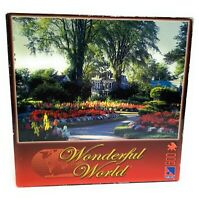 Wonderful World Historical Gardens 500 pieces Jigsaw Puzzle sure-look Flowers