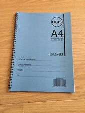 School Class Teacher Attendance Register, Mark Book, 60 Pages, 50 Names, Blue