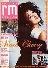 Neneh Cherry on Magazine Cover 6 May 1989    China Crisis    Richie Sambora