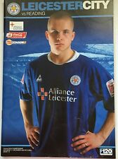 Leicester City vs Reading Programme - Saturday 1st December 2004