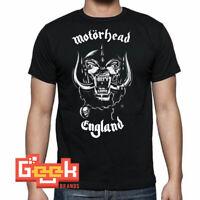 MOTORHEAD ENGLAND TSHIRT - PUNK ROCK MEN's T SHIRT SMALL-5XL MULTIPLE COLORS