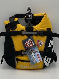 EZYDog DFD Dog Floatation Device Safety Vest Life Preserver XS SDXSY Yellow NEW